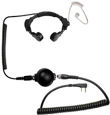 code red headsets assault tactical throat microphone with