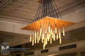 Chandelier With Edison Bulbs Chandelier With Edison Bulbs Up Lights Bulb Chandelier With Metal