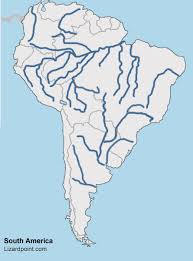 a map of south america test your geography knowledge south america rivers and lakes