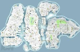 Fort Carson Map List Of Street Names Gta Wiki Fandom Powered By Wikia
