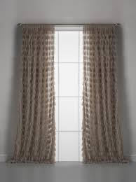 Curtain Pair Couture Dreams Chichi Solid Petal Window Curtain