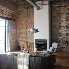 industrial farmhouse living room living room industrial with