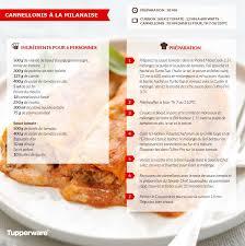 recette de cuisine tupperware cannellonis à la milanaise pati cook recettes tup