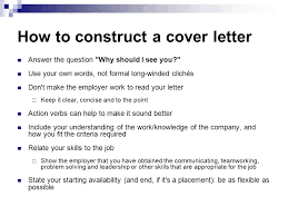 today u0027s lecture cv cover letters colman mcmahon ppt download