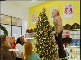 a visit to kmart and tree decor martha stewart