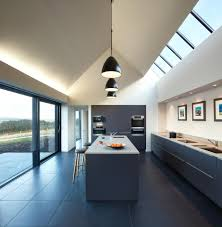 Poggenpohl Kitchen Island With A Cooktop Ideas Colbost House Dualchas Architects Reinvent The Scottish Black