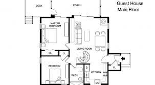 guest house floor plans guest house architectural plans decohome