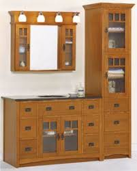 Mission Style Bathroom Vanity by Cherry Spice Mission Cabinets We Didn U0027t Get These But Got