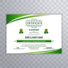 certificate of recognition vectors photos and psd files free