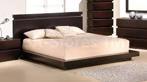 663 00 knotch contemporary sleek platform bed beds 9