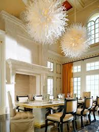 white led track lighting fixtures in the dining room space using