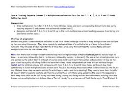 Learn Times Tables Maths Y4 Summer Teaching Sequence 3 By Hamiltontrust Teaching