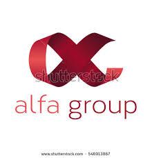alpha design abstract letter a alpha logo design stock vector 546913867