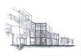 architecture design drawing sketch jobs the part of clipgoo home
