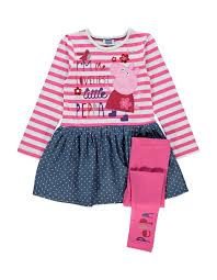 asda childrens halloween costumes peppa pig dress and leggings set peppa pig dress and girls