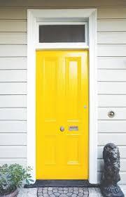 blue and yellow doors front door freak