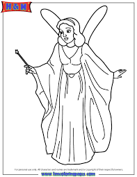 fairy godmother coloring page h u0026 m coloring pages