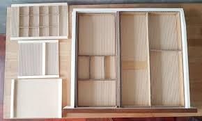 Wood Desk Drawer Organizer Diy Desk Drawer Organizer With Sliding Trays From Cardboard Box