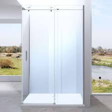 l shaped glass shower cubicle modern shower enclosure u2013 durovin