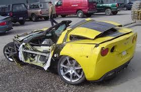 totaled for sale pic corvette zhz totally totaled corvette sales lifestyle