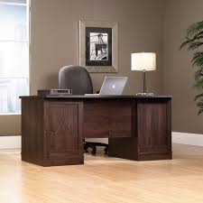 Office Table Front View Office Port Executive Desk 408289 Sauder