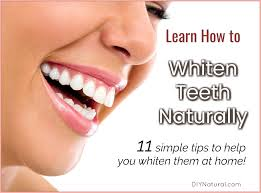 how to whiten teeth naturally 11 simple ways to lighten them