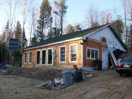 30x40 earth berm passive solar in maine