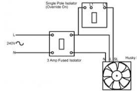 kitchen extractor fan wiring diagram wiring diagram