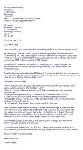 cover letter job layout