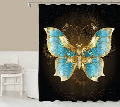 fantasy shower curtain contemporary bathroom codysloft