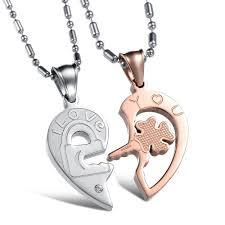 online get cheap cute matching necklaces couple aliexpress com