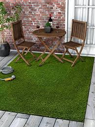Outdoor Grass Rug Lawn Artificial Grass Rug Indoor Outdoor