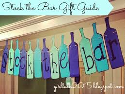 stock the bar party girl talk stock the bar gift ideas