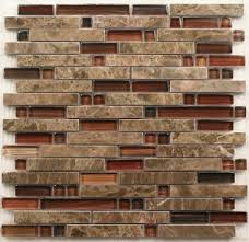 Interlocking Stone Mosaic Tiles Glass Mosaic Kitchen Backsplash - Backsplash stone tile