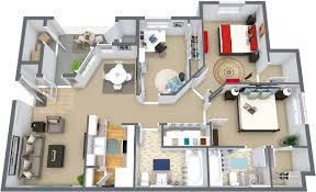 3 bed 2 bath house plans floor plans monarch meadows apartments