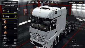 volvo vnl 780 blue truck farming simulator 2017 2015 15 17 mercedes actros mp4 v1 1 truck mod euro truck simulator 2 mods