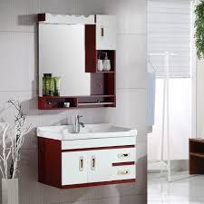 oak bathroom cabinet combination of simple modern toilet washbasin