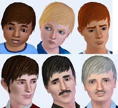 mod the sims pixie hair for males all ages