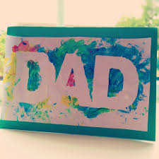 fathers day cards finger painted s day card clare s tots