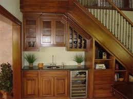 home design and decor under stair design with mini bar stair