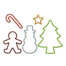 christmas cookie cutter clip art 36