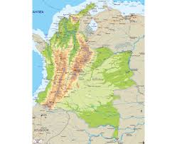 Colombian Map Maps Of Colombia Detailed Map Of Colombia In English Tourist