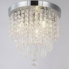 3 light flush mount ceiling light fixtures zeefo crystal chandeliers modern pendant flush mount ceiling light