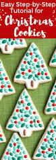 how to decorate christmas cookies with royal icing a step by step