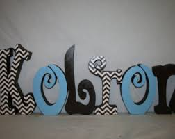 baby nursery letters etsy