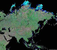 Blank Physical Map Of Europe by Asia Map And Satellite Image