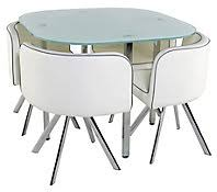 table de cuisine chaise table de cuisine moderne table 4 chaises melo blanc meuble de