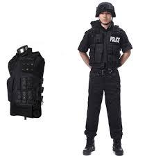 Swat Halloween Costumes Cool Men U0027s Officer Swat Prop Vest Hold Team Tactical Assault