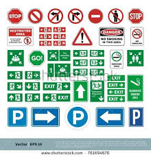 set street sign evacuate sign smoking stock vector 761694670