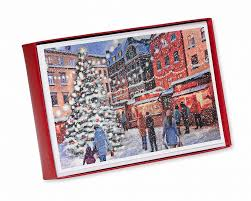 christmastime in the city christmas boxed cards 14 count shop